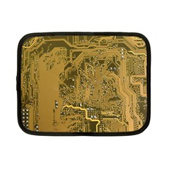 Pcb Printed Circuit Board Netbook Case (small) by Vaneshart