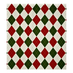 Christmas Argyle Pattern Shower Curtain 66  X 72  (large)  by Sobalvarro