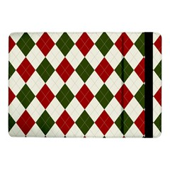 Christmas Argyle Pattern Samsung Galaxy Tab Pro 10 1  Flip Case by Sobalvarro