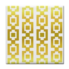 Gold Square Pattern  Arvin61r58 Face Towel by Sobalvarro