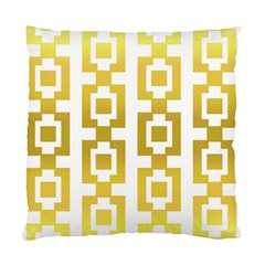 Gold Square Pattern  Arvin61r58 Standard Cushion Case (two Sides) by Sobalvarro