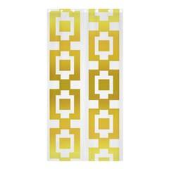 Gold Square Pattern  Arvin61r58 Shower Curtain 36  X 72  (stall)  by Sobalvarro