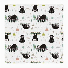 Cute Sloths Medium Glasses Cloth (2 Sides) by Sobalvarro