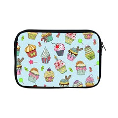 Cupcake Doodle Pattern Apple Ipad Mini Zipper Cases by Sobalvarro