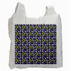 Hawaii Ghost Blue Recycle Bag (two Side)