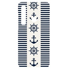 Nautical Seamless Pattern Vector Illustration Samsung A9 Black Uv Print Case