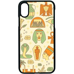 Egypt Seamless Pattern Iphone X Seamless Case (black)