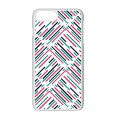 Abstract Colorful Pattern Background Iphone 7 Plus Seamless Case (white)