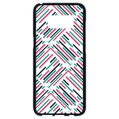 Abstract Colorful Pattern Background Samsung Galaxy S8 Black Seamless Case
