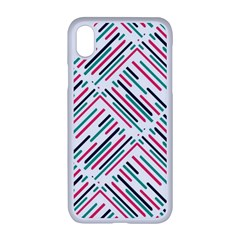 Abstract Colorful Pattern Background Iphone Xr Seamless Case (white)