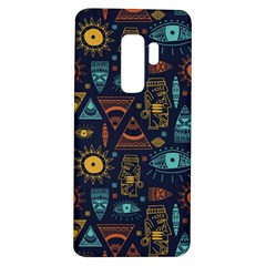 Trendy African Maya Seamless Pattern With Doodle Hand Drawn Ancient Objects Samsung Galaxy S9 Plus Tpu Uv Case