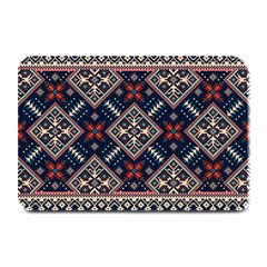 Ukrainian Folk Seamless Pattern Ornament Plate Mats
