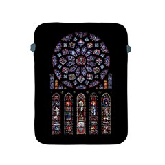 Chartres Cathedral Notre Dame De Paris Amiens Cath Stained Glass Apple Ipad 2/3/4 Protective Soft Cases by Wegoenart
