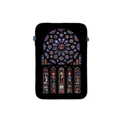 Chartres Cathedral Notre Dame De Paris Amiens Cath Stained Glass Apple Ipad Mini Protective Soft Cases by Wegoenart