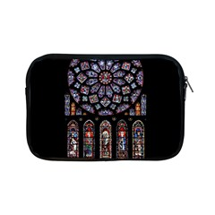 Chartres Cathedral Notre Dame De Paris Amiens Cath Stained Glass Apple Ipad Mini Zipper Cases by Wegoenart