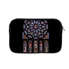 Chartres Cathedral Notre Dame De Paris Amiens Cath Stained Glass Apple Macbook Pro 13  Zipper Case