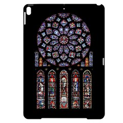 Chartres Cathedral Notre Dame De Paris Amiens Cath Stained Glass Apple Ipad Pro 10 5   Black Uv Print Case by Wegoenart