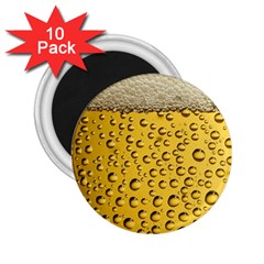 Beer Bubbles 2 25  Magnets (10 Pack)