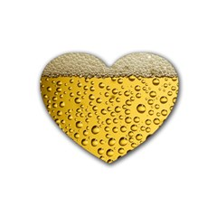 Beer Bubbles Heart Coaster (4 Pack)