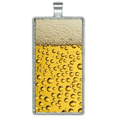 Beer Bubbles Rectangle Necklace