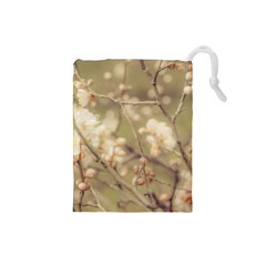 Sakura Flowers, Imperial Palace Park, Tokyo, Japan Drawstring Pouch (small) by dflcprintsclothing