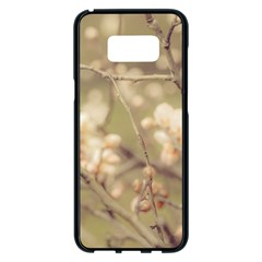 Sakura Flowers, Imperial Palace Park, Tokyo, Japan Samsung Galaxy S8 Plus Black Seamless Case by dflcprintsclothing