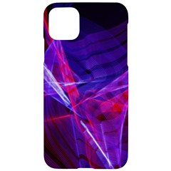 Fractal Flash Iphone 11 Pro Max Black Uv Print Case by Sparkle