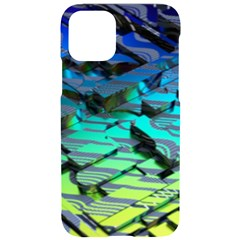 Digital Abstract Iphone 11 Pro Black Uv Print Case by Sparkle