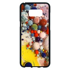 Colorful Choas Samsung Galaxy S8 Plus Black Seamless Case