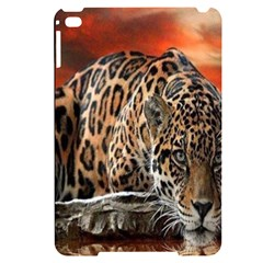 Nature With Tiger Apple Ipad Mini 4 Black Uv Print Case by Sparkle