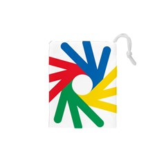 Logo Of Deaflympics Drawstring Pouch (xs) by abbeyz71