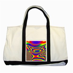 Rainbow Two Tone Tote Bag