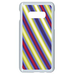 Colorful Strips Samsung Galaxy S10e Seamless Case (white)