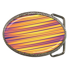 Rainbow Waves Belt Buckles by Sparkle