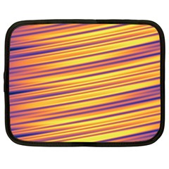 Strips Hole Netbook Case (large)