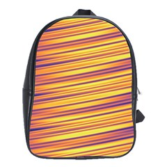 Strips Hole School Bag (large)
