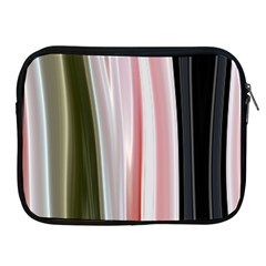 Satin Strips Apple Ipad 2/3/4 Zipper Cases