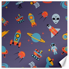 Space Seamless Pattern Canvas 12  X 12