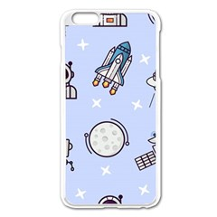 Seamless Pattern With Space Theme Iphone 6 Plus/6s Plus Enamel White Case