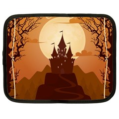 Beautiful Castle Netbook Case (xl) by Vaneshart