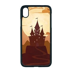 Beautiful Castle Iphone Xr Seamless Case (black)