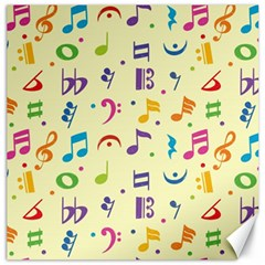 Seamless Pattern Musical Note Doodle Symbol Canvas 12  X 12