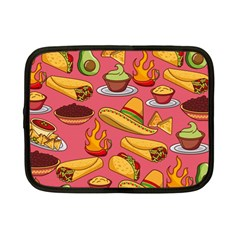 Seamless Pattern Mexican Food Hat Traditional Netbook Case (small) by Vaneshart