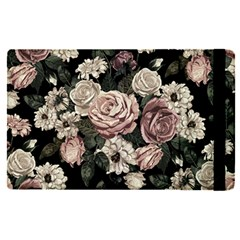 Elegant Seamless Pattern Blush Toned Rustic Flowers Apple Ipad Pro 12 9   Flip Case by Vaneshart