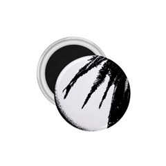 Black And White Tropical Moonscape Illustration 1 75  Magnets by dflcprintsclothing