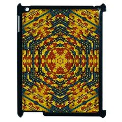 Yuppie And Hippie Art With Some Bohemian Style In Apple Ipad 2 Case (black) by pepitasart