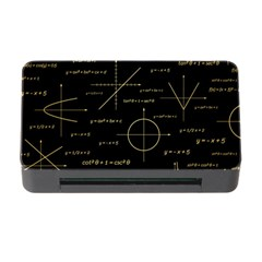 Abstract Math Pattern Memory Card Reader With Cf by Vaneshart