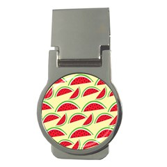 Watermelon Pattern Money Clips (round)  by Vaneshart