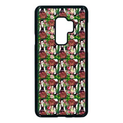 Swimmer 20s Green Samsung Galaxy S9 Plus Seamless Case(black) by snowwhitegirl