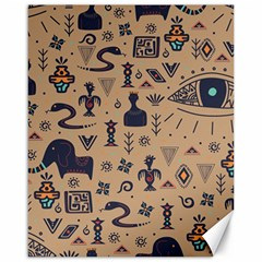 Vintage Tribal Seamless Pattern With Ethnic Motifs Canvas 16  x 20